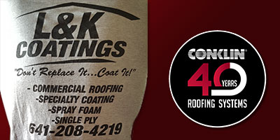 Dont replace your Iowa Commercial or Industrial Roof - Coat It!