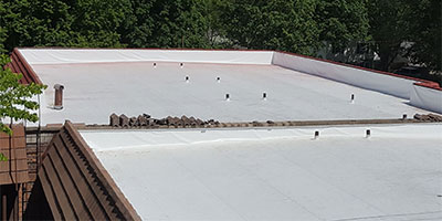 Iowa Commercial Single Membrane System - Flexion by L and K Coatings LLC